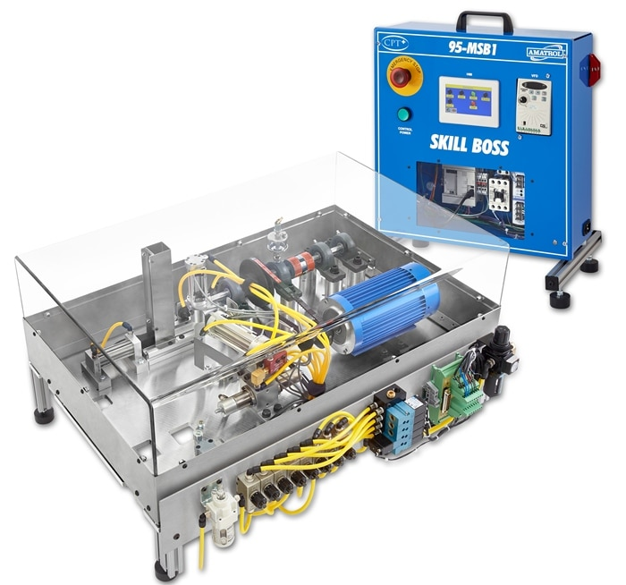 Amatrol Skill Boss used for Manufacturing Skills training and assessment