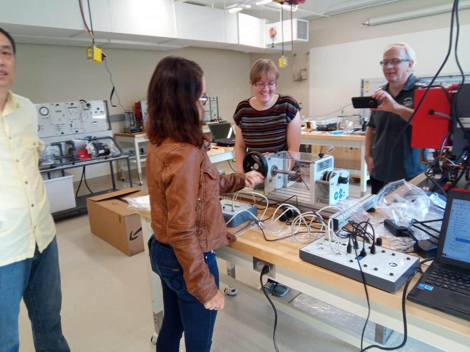 University of Northwester Students - TecQuipment - Engineering