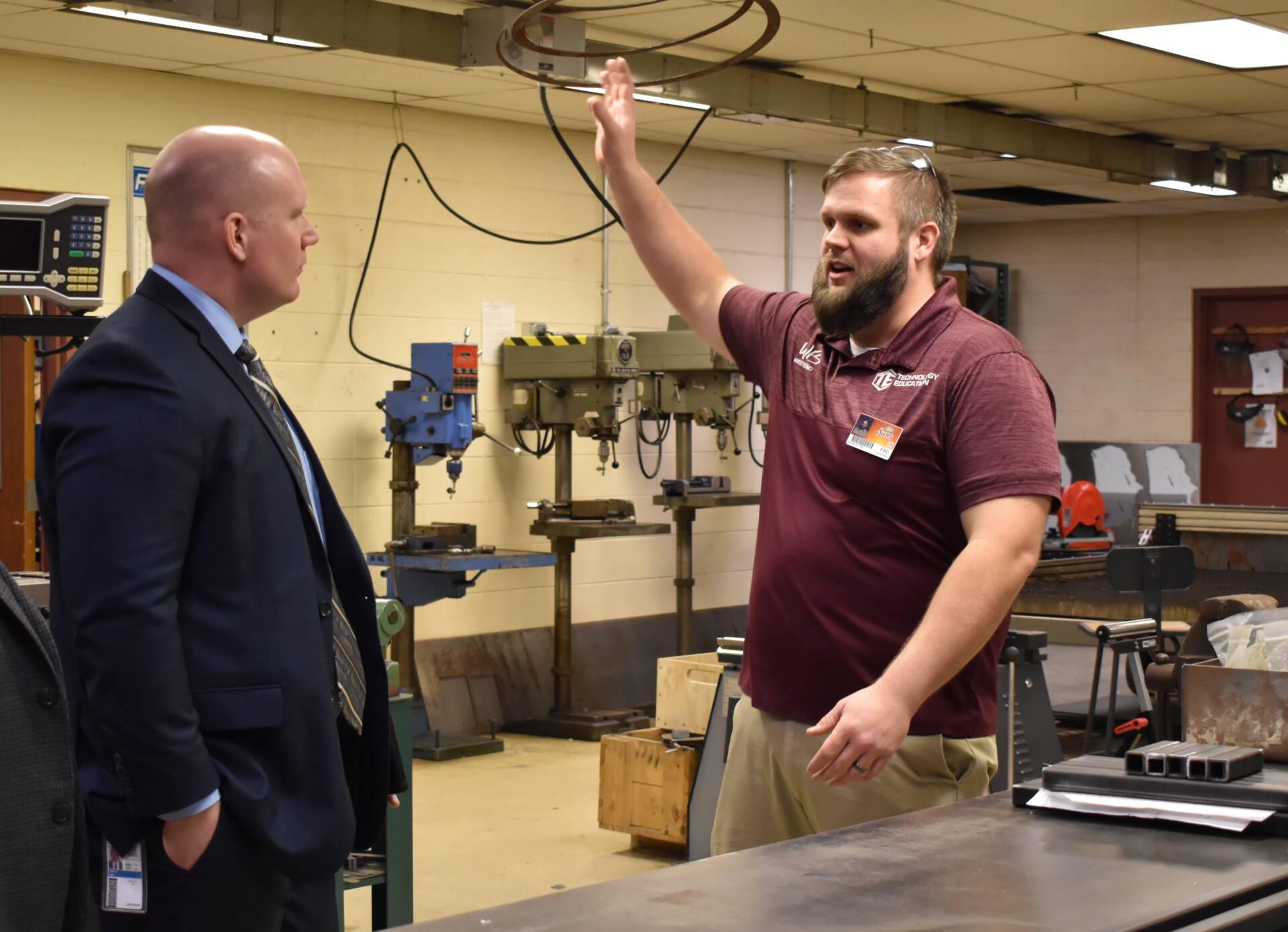 Department of Workforce Development Applauds CTE Program and Industry Partners