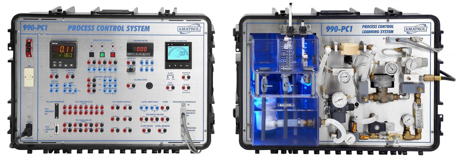 Amatrol portable process control trainer