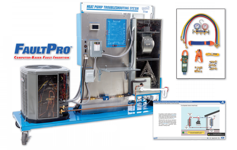 Train HVAC skills with the Residential Heat Pump Troubleshooting Learning System