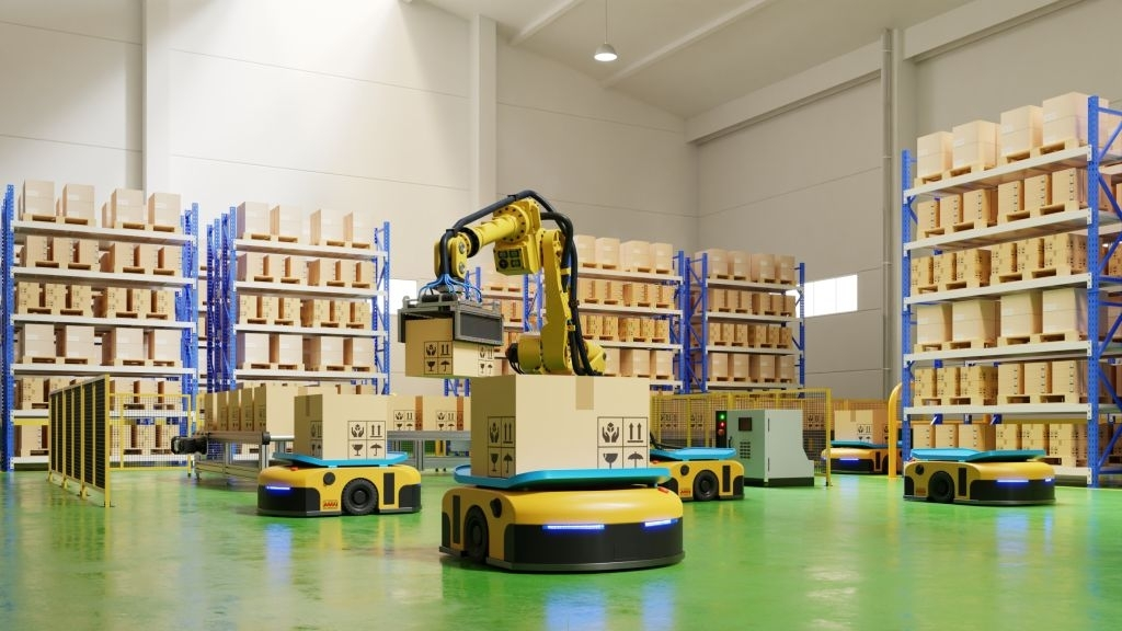 AGVs will use artificial intelligence to transform manufacturing